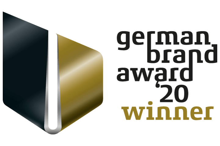 Gewinner-Logo des German Brand Awards 2020